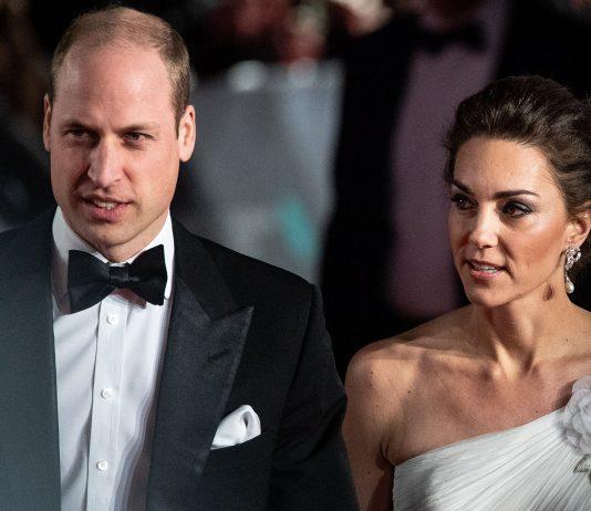 Kate Middleton ir William