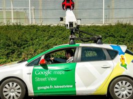 Google Street View automobilis